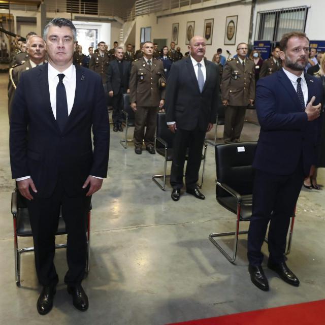 Zoran Milanović, Mario Banožić