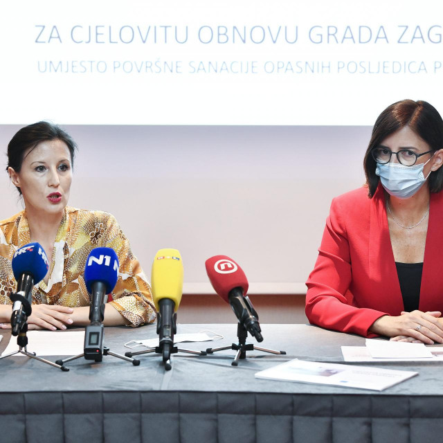 Dalija Orešković i Marijana Puljak