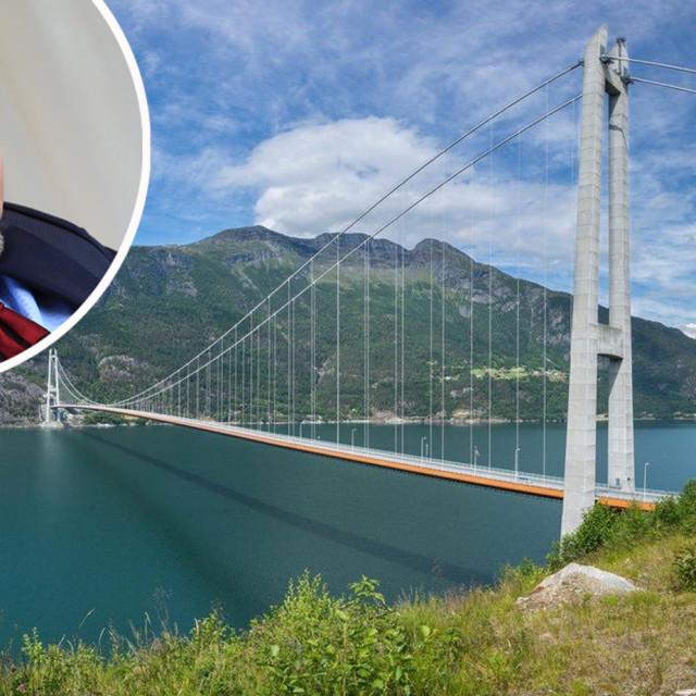 Yngve Slyngstad, izvršni direktor norveškog državnog stabilizacijskog fonda i most iznad fjorda Hardanger