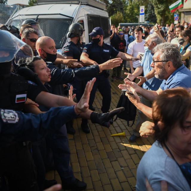 Prosvjedi u Bugarskoj