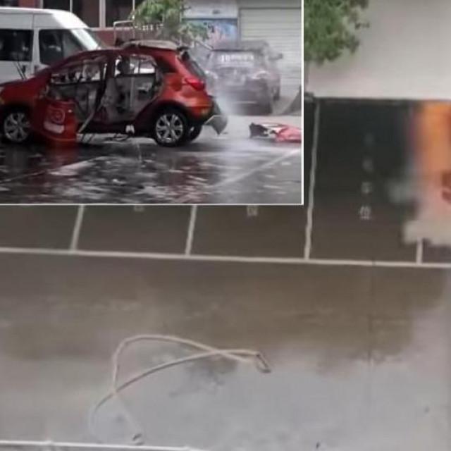 Eksplozija auta