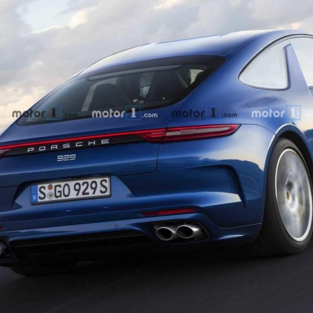 Panamera Coupe render