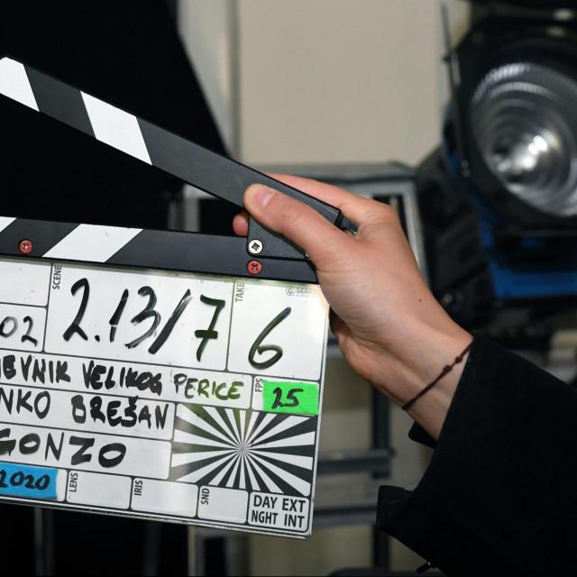 Snimanje nove HRT-ove hit serije Dnevnik velikog Perice