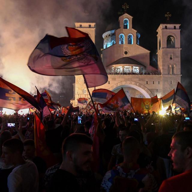 Slavlje nakon izbora u Crnoj Gori