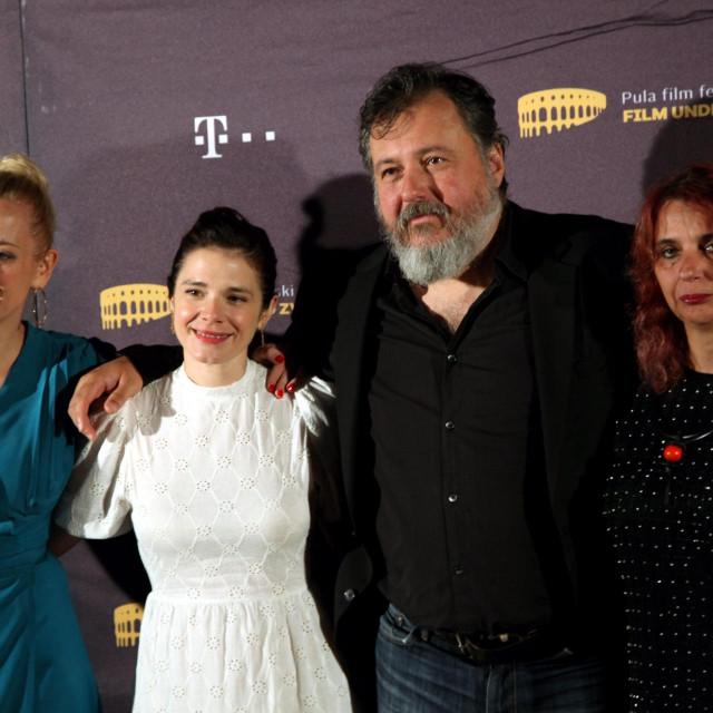 Lana Barić, Ivana Roščić, Danilo Šerbedžija i Irena Marković