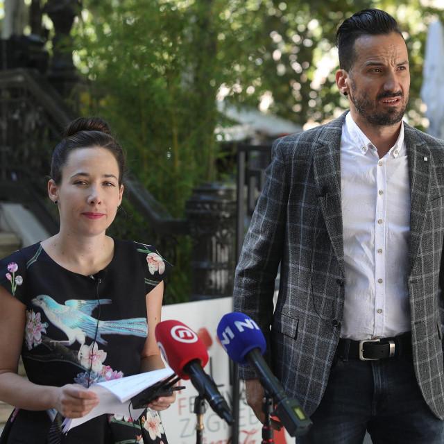 Marija Selak Raspudić i Marin Miletić