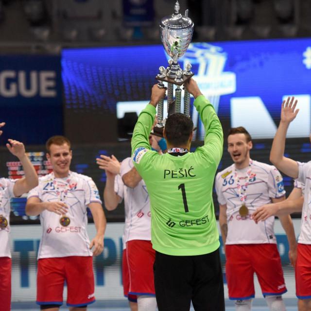 Slavlje ekipe Meškov Brest
