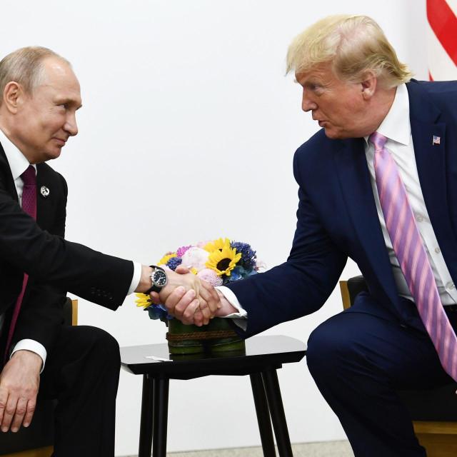 Donald Trump i Vladimir Putin