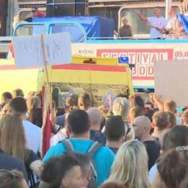 Hitna pomoć na 'Festivalu slobode'