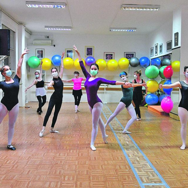 Plesni studio Edite Cebalo pod epidemiološkim mjerama<br />
