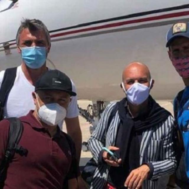 Novak Đoković i njegov tim vraćaju se iz SAD-a