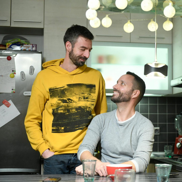 Ivo Šegota i Mladen Kožić