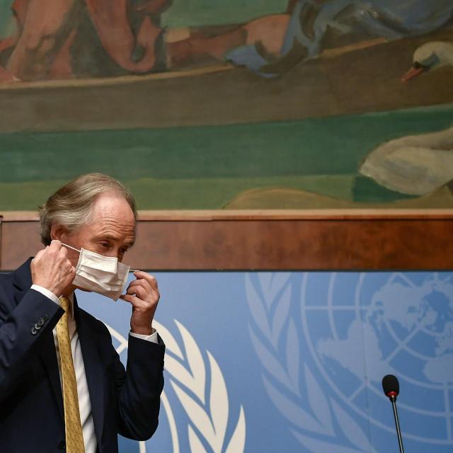 UN-ov posebni izaslanik za Siriju Geir Pedersen