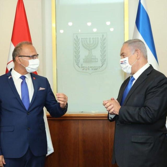 Šef hrvatske diplomacije susreo se u Jeruzalemu s premijerom Benjaminom Netanyahuom