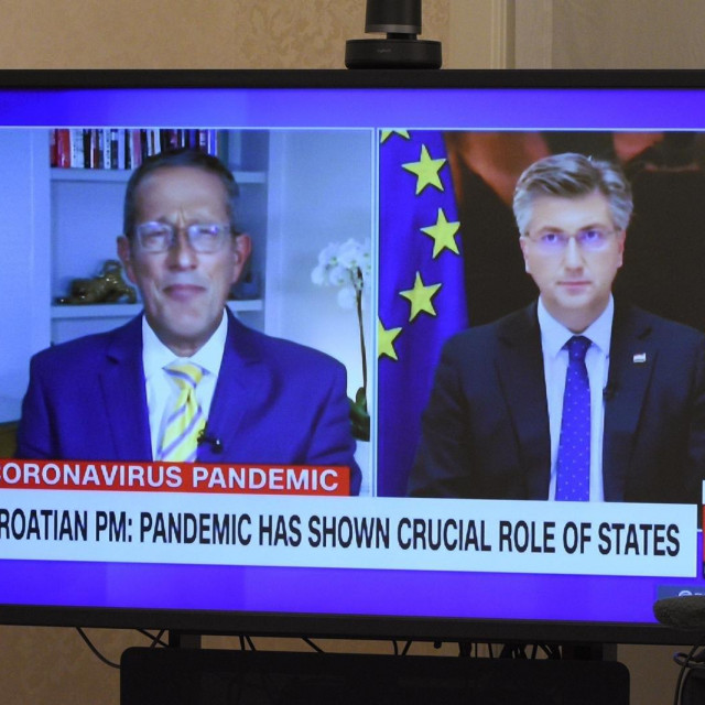 Andrej Plenković na CNN-u