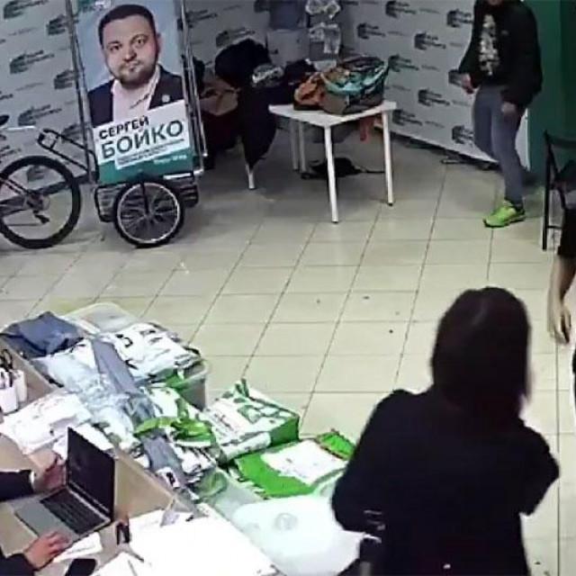 Napad na oporbene prostorije u Novosibirsku