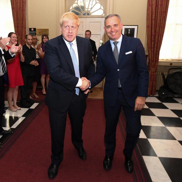 Boris Johnson i Mark Sedwill