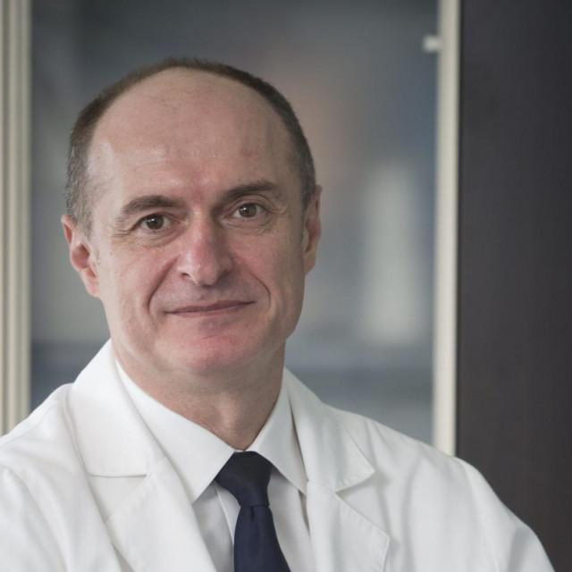 Prof. dr. sc. Eduard Vrdoljak,predsjednik Hrvatskog onkološkog društva i predstojnik Klinike za onkologiju i radioterapiju KBC Split.