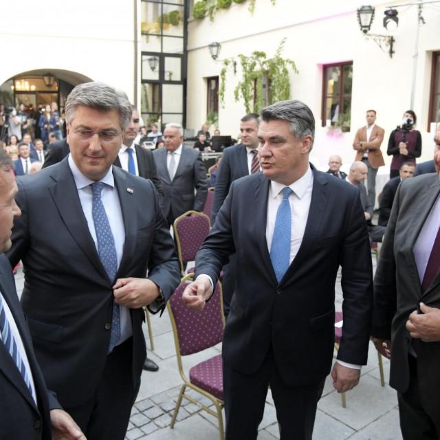 Zoran Milanović, Andrej Plenković., Radimir Čačić