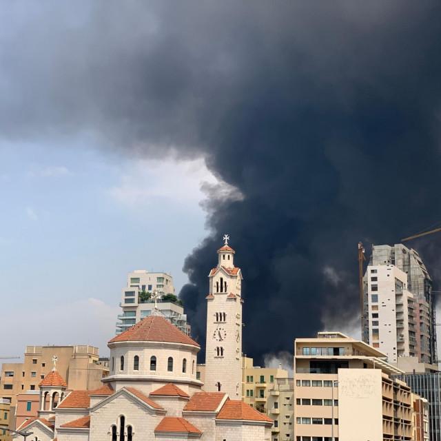 Požar u Bejrutu