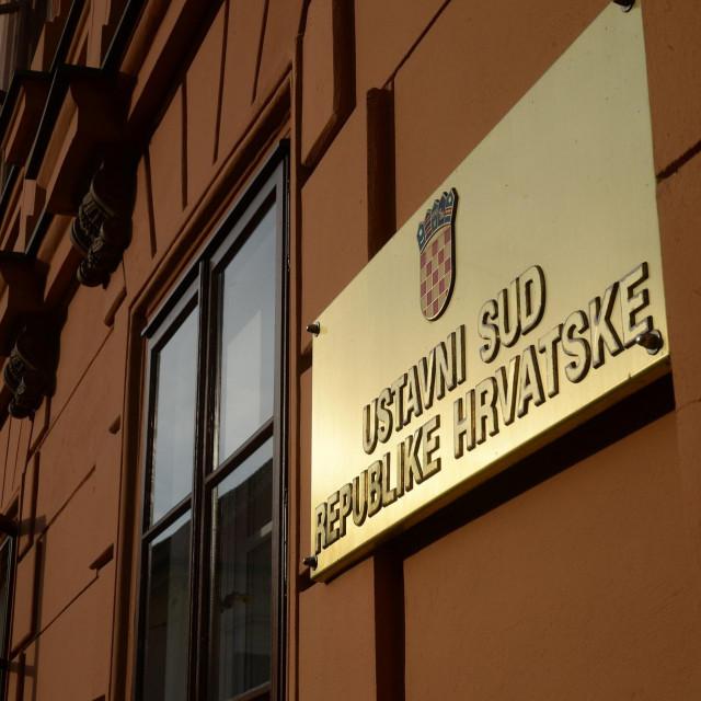 Zgrada ustavnog suda Hrvatske