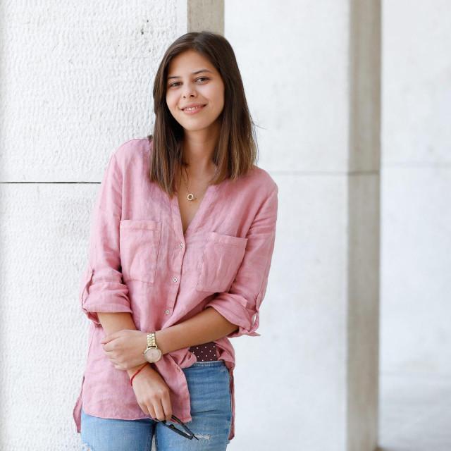 Rosana Mihanović, udomljena Romkinja koja je upisala fakultet.