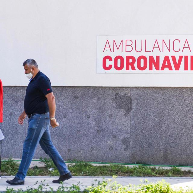 Ambulanta za koronavirus u Prištini