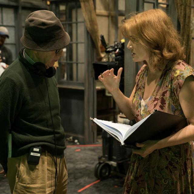 Woody Allen i Kate Winslet
