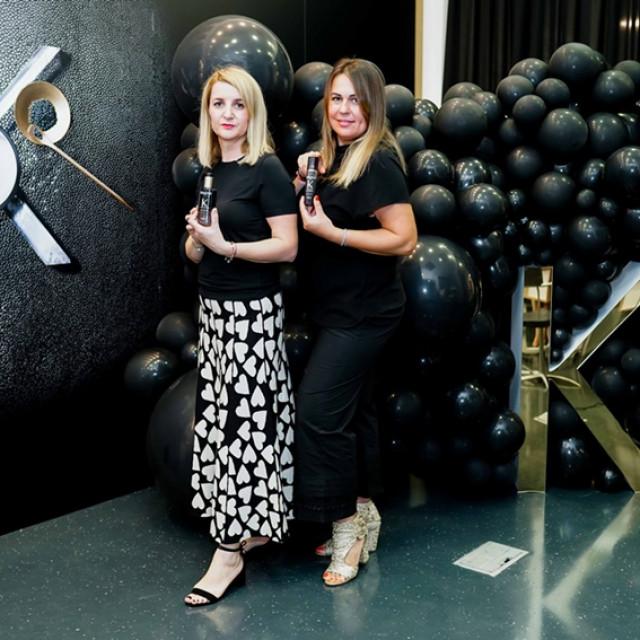 Antonija Mužar i Irena Tarandek i u svojem će salonu imati proizvode iz nove Kérastase linije.