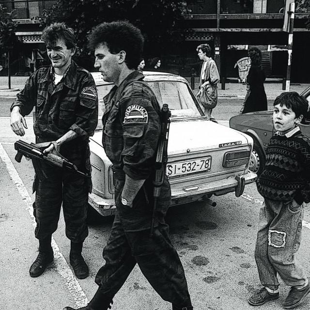 Knin 1991.