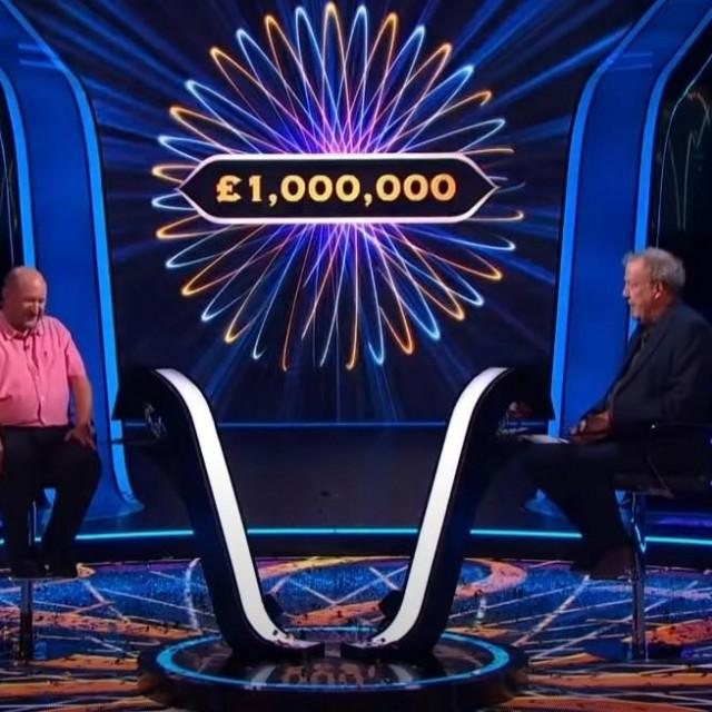 Donald Fear u emisiji 'Tko želi biti milijunaš?'