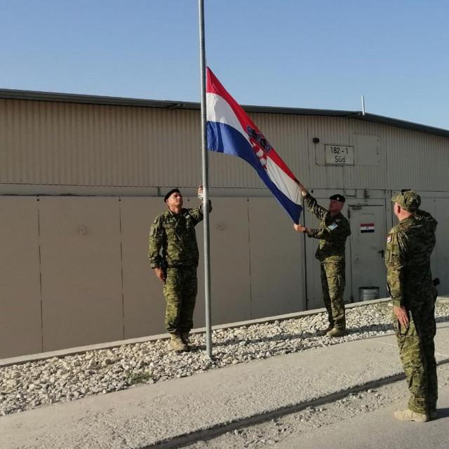 Spuštanje zastave