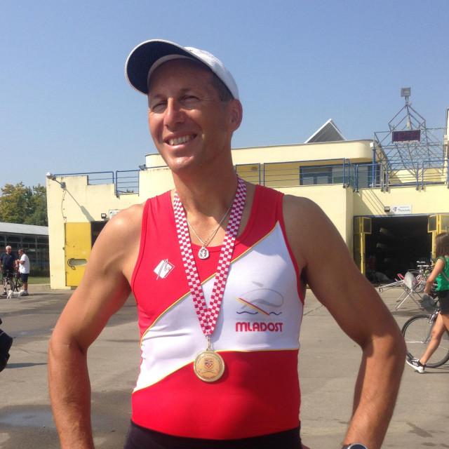 50-godišnjak sa seniorskim zlatom - Igor Boraska