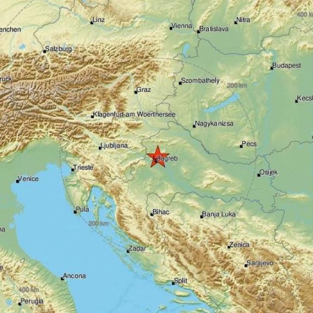 Potres u Zagrebu