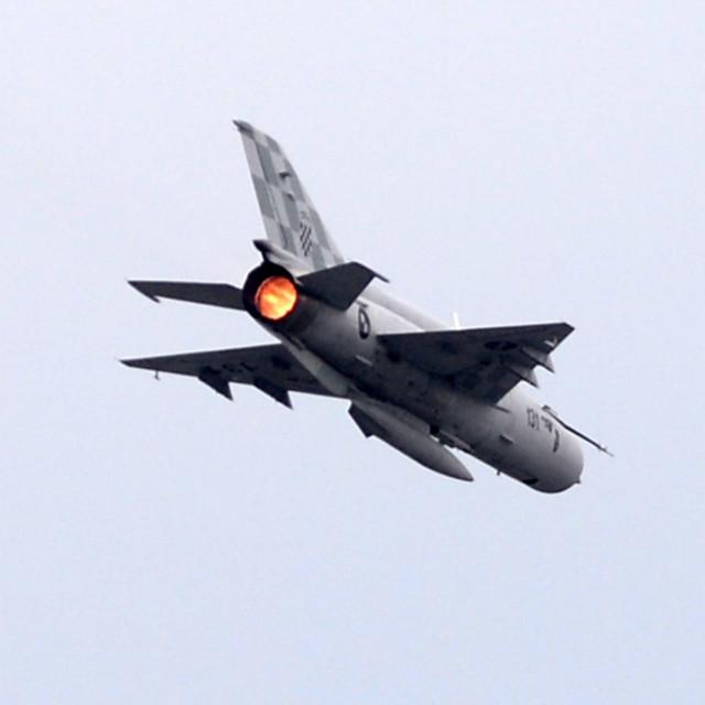 MiG 21 HRZ-a u letu