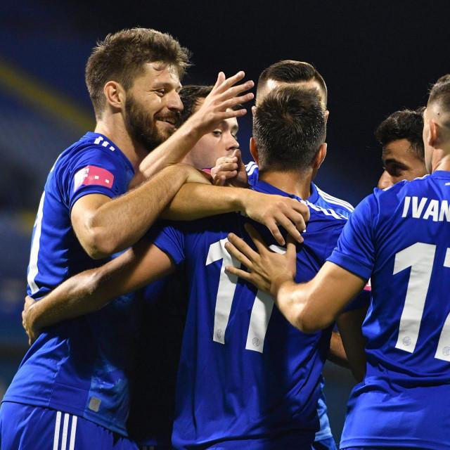 Slavlje Dinamovih igrača