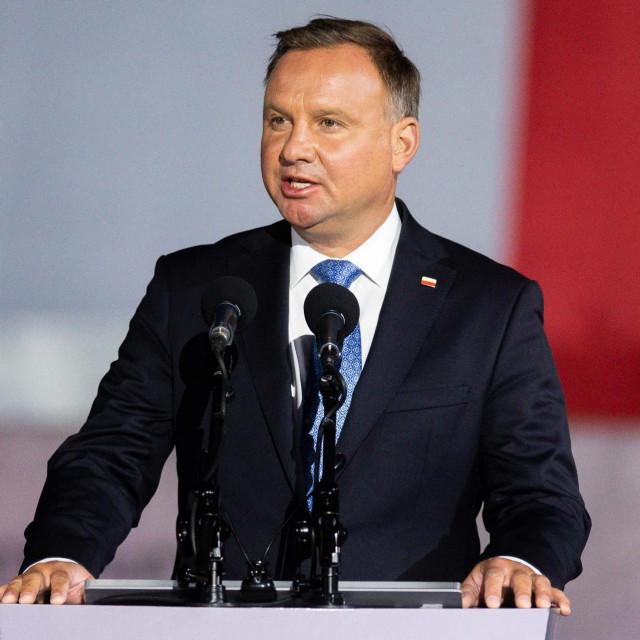 Poljski predsjednik Andrzej Duda