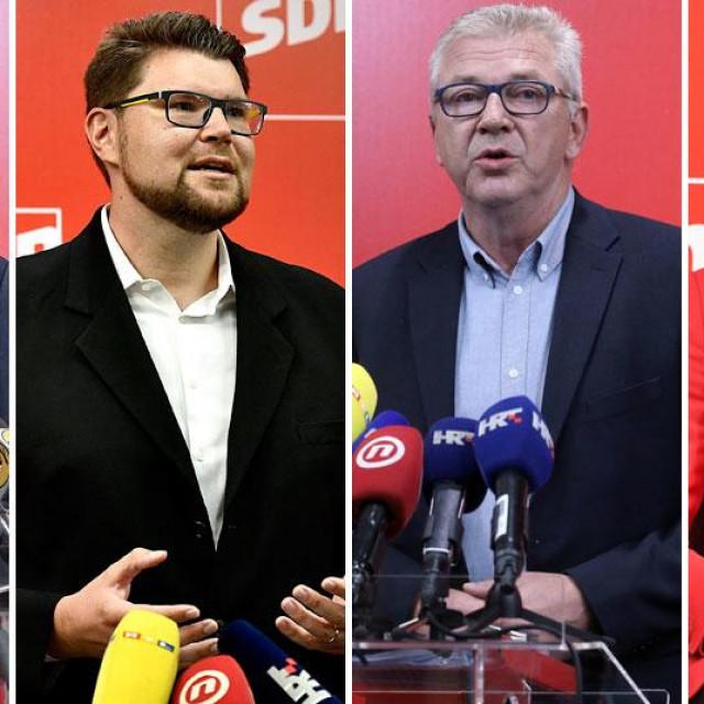 Željko Kolar, Peđa Grbin, Ranko Ostojić, Mirela Ahmetović