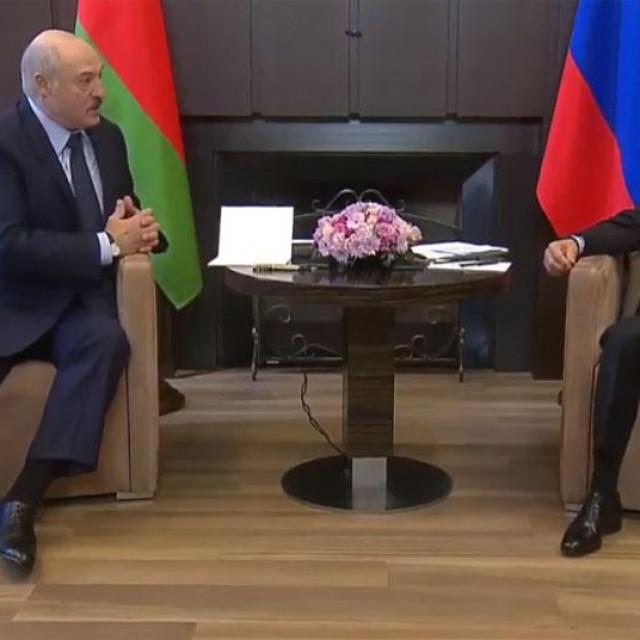 Lukašenko i Putin u Sočiju