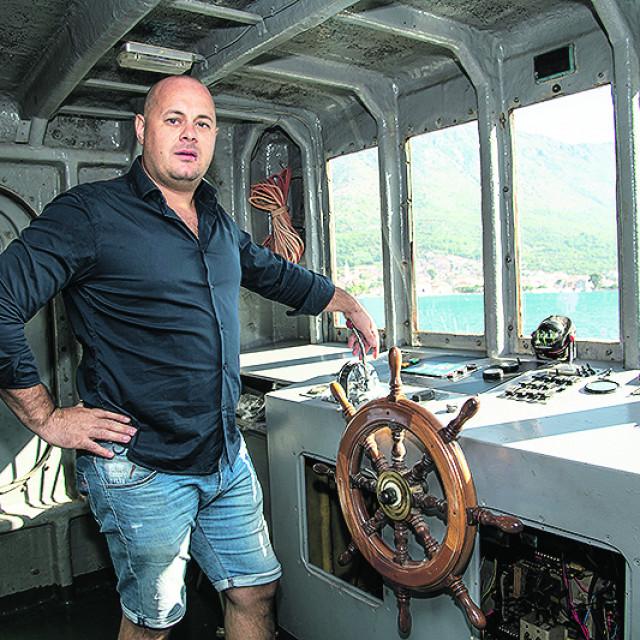 Ivo Šegović, vlasnik broda Sv. Kuzma