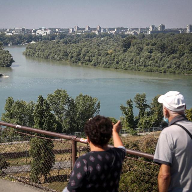 Dunav u Beogradu
