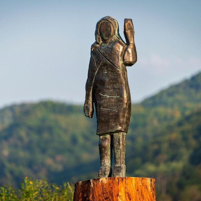 Kip Melanije Trump u Sevnici