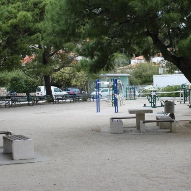 Park na Batali u kojem se dogodio napad