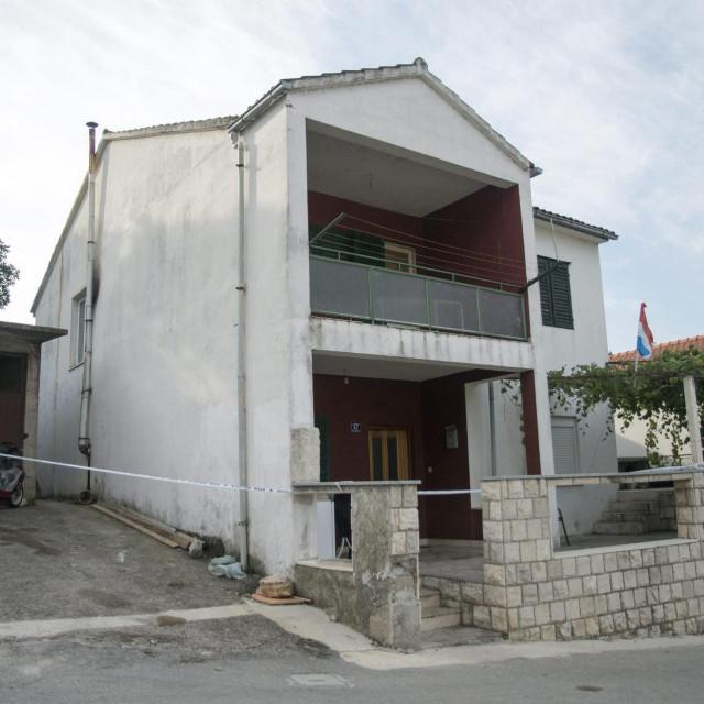 Kuća u kojoj je pronađeno tijelo ubijenog mladića