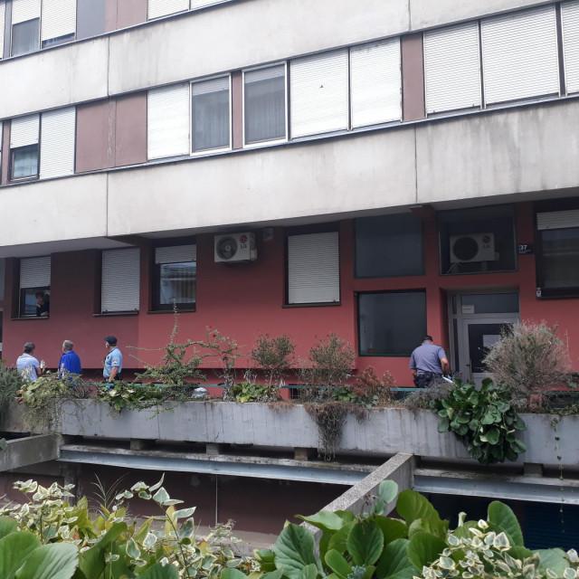 Mjesto tragedije u Zagrebu