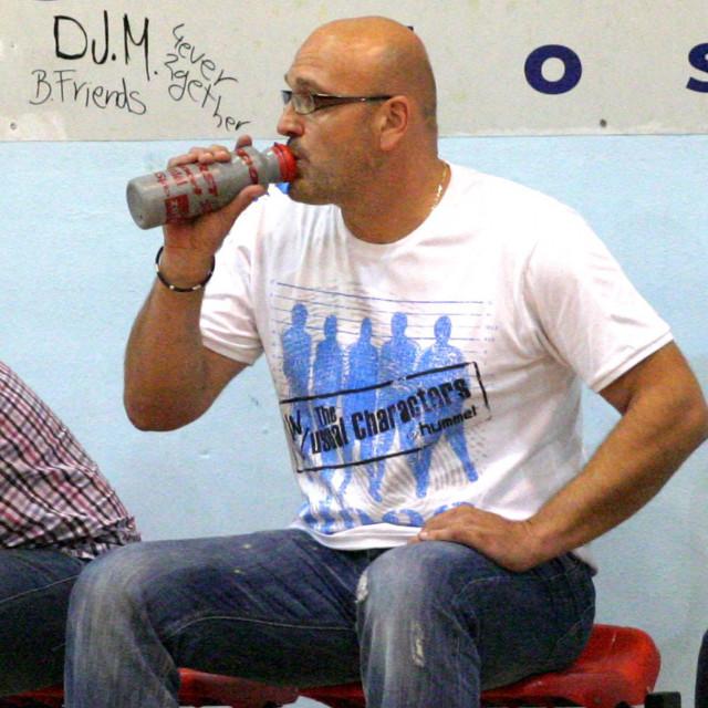 Trener Podravke Zlatan Saračević