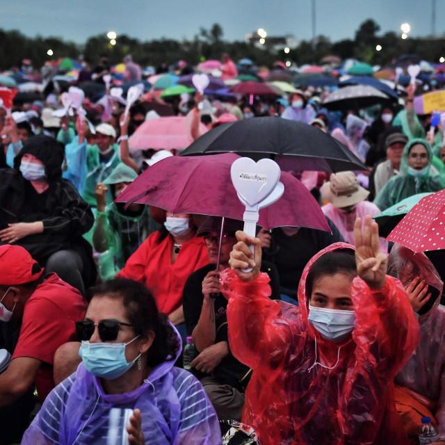 Prosvjed na Tajlandu
