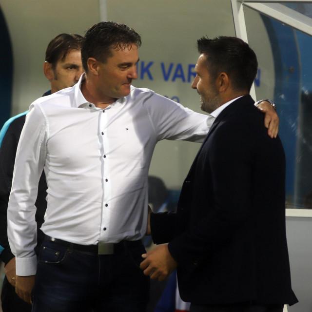 Samir Toplak i Nenad Bjelica