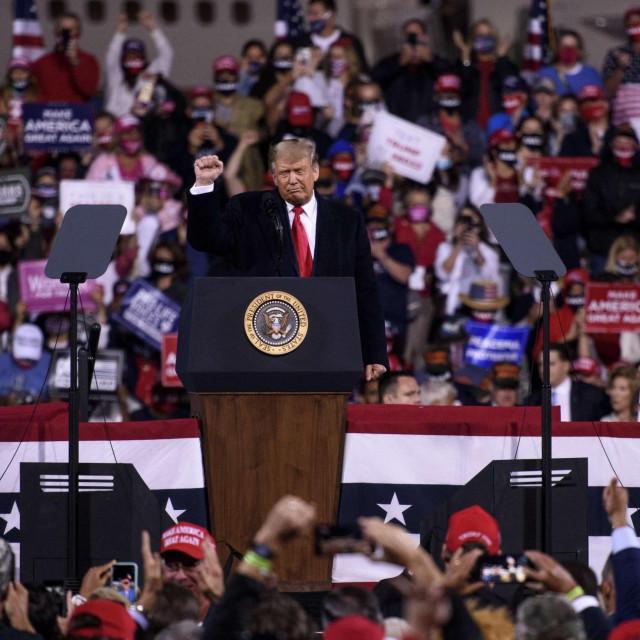 Donald Trump u Fayettevilleu u Sjevernoj Karolini
