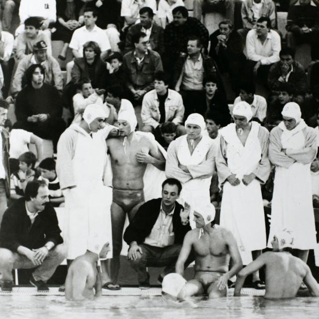 Jadran je 1991. zbog rata finale Kupa prvaka Europe igrao kao domaćin u Trstu